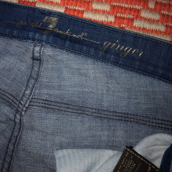 7 For All Mankind Denim - 7 For All Mankind ginger size 29